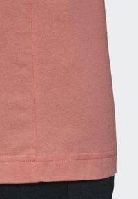 adidas Performance - LOGO T-SHIRT - Print T-shirt - red - 6