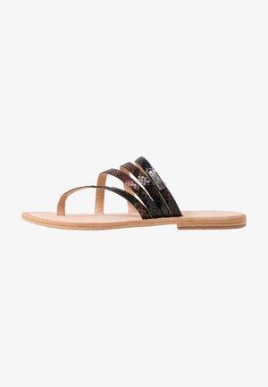 ODYSSEE - T-bar sandals - noir