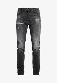 Diesel - TEPPHAR-X - Slim fit jeans - black denim - 4