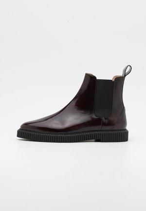 COLLISION CHELSEA - Classic ankle boots - bordeaux