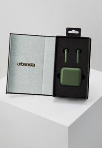 Urbanista - STOCKHOLM TRUE WIRELESS EARPHONES - Headphones - olive green - 2