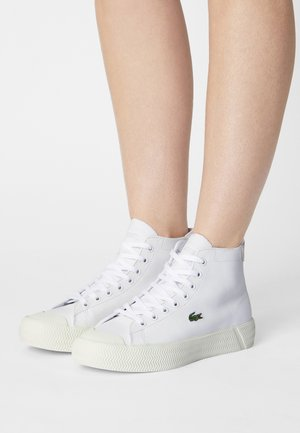 GRIPSHOT  - High-top trainers - white/off white