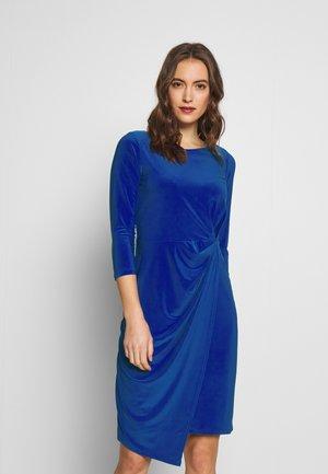 Shift dress - cobalt