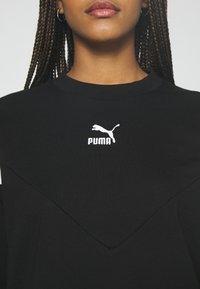 Puma - ICONIC CROPPED CREW - Sweatshirt - black - 5