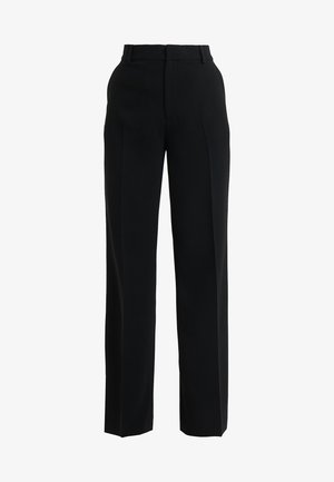 HUTTON TROUSERS - Bukse - black