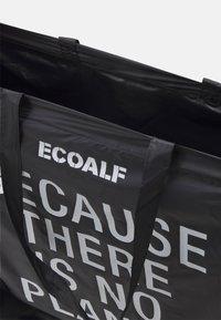 Ecoalf - LEFTOVER - Cabas - black - 2