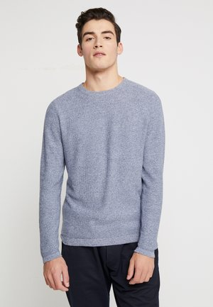 JJEROB CREW NECK - Jumper - denim blue