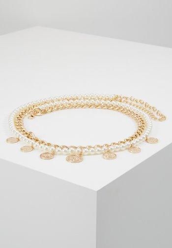 Cinturón - gold-coloured