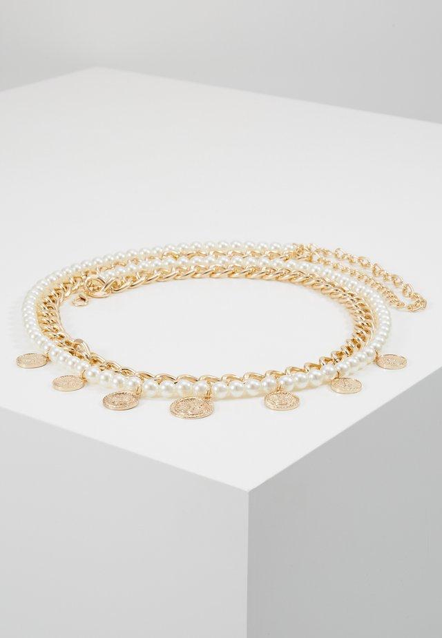 Taljebælter - gold-coloured