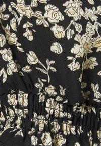 Missguided Plus - SHORT SLEEVE PUFF MIDAXI SMOCK DRESS - Denní šaty - black - 2