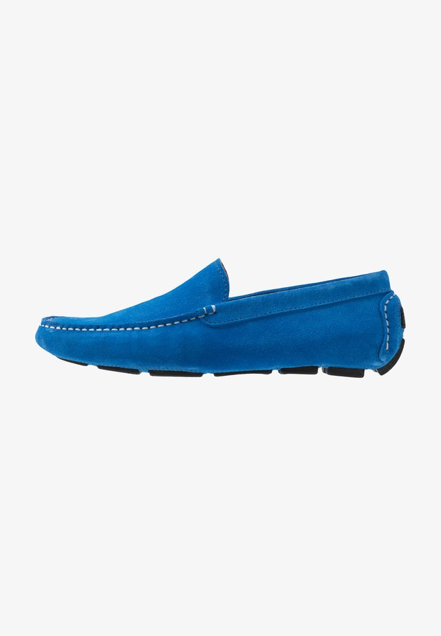 Moccasins - royal blue