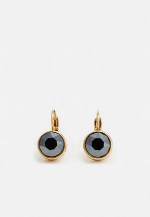 LOUISE - Earrings - gold-coloured/black
