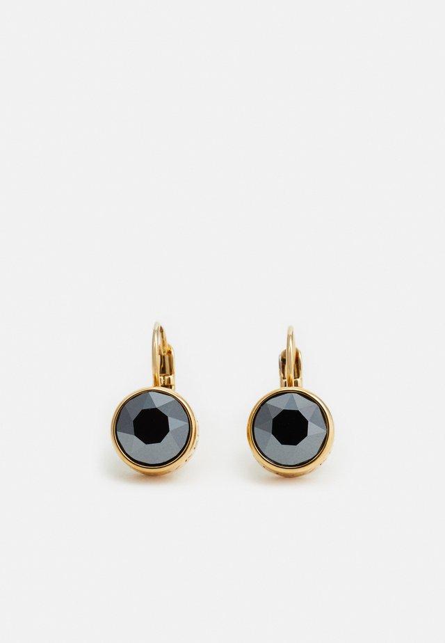 LOUISE - Boucles d'oreilles - gold-coloured/black