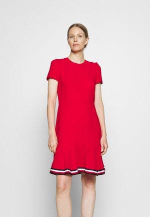 SKATER DRESS - Kjole - primary red