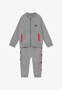 Guess - ACTIVE BABY SET - Tracksuit - light heather grey - 3