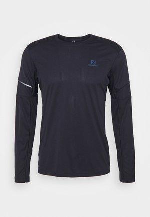 AGILE TEE - Camiseta de deporte - night sky