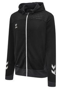 Hummel - POLY  - Zip-up sweatshirt - black - 2