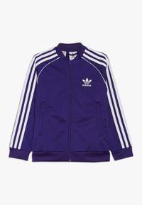 adidas Originals - SUPERSTAR - Treningsjakke - purple/white - 0