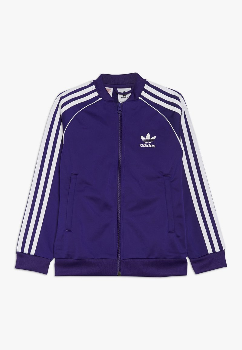 adidas Originals - SUPERSTAR - Treningsjakke - purple/white