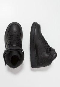 Nike Sportswear - AIR FORCE 1 MID - High-top trainers - black - 0