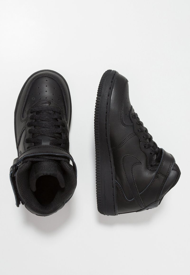 Nike Sportswear - AIR FORCE 1 MID - High-top trainers - black
