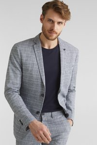 Esprit Collection - OCS LIMIX CHECK - Blazer jacket - blue 3 - 0