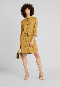 mbyM - HENRIETTA - Shirt dress - dijon - 1