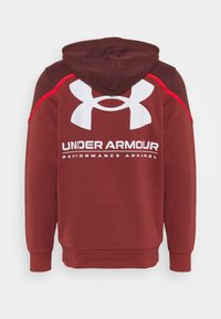 Under Armour - RIVAL - Hættetrøjer - cinna red - 1