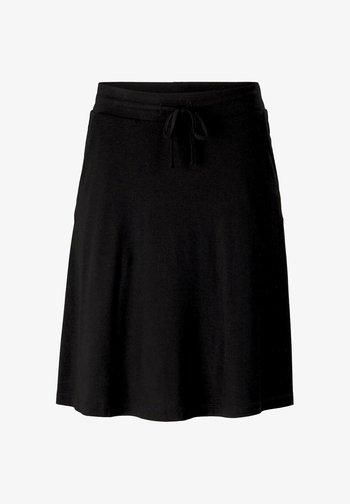 MIT TASCHEN - A-line skirt - deep black