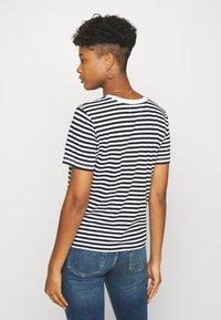 Even&Odd - Print T-shirt - black/white - 2