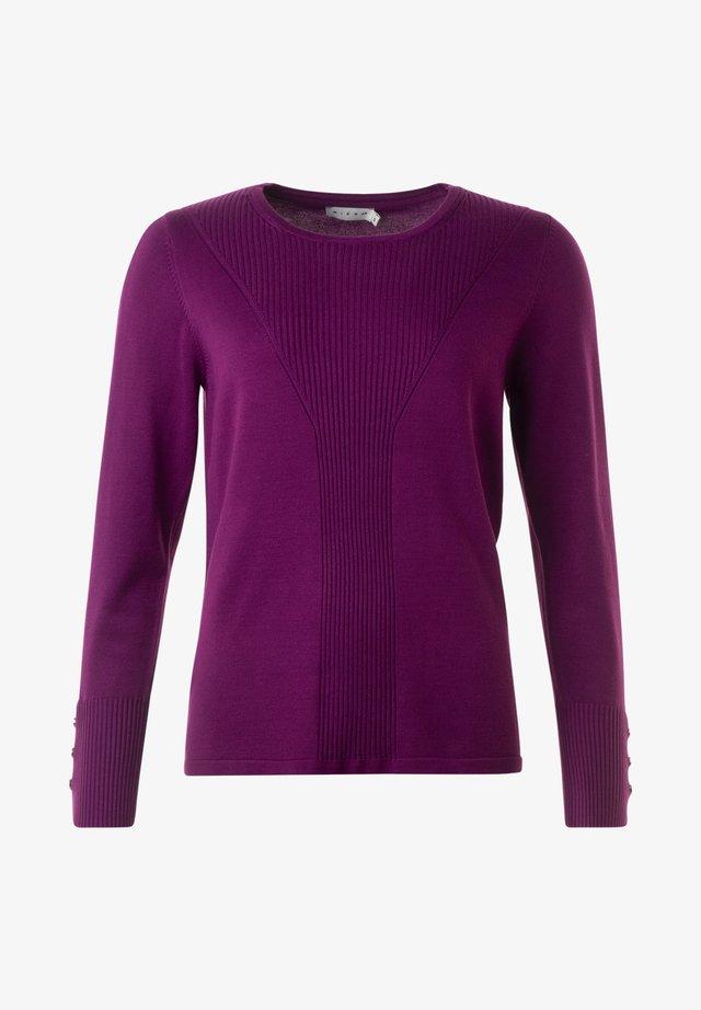 Sweatshirt - autumn plum
