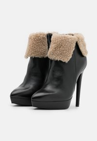 Even&Odd - LEATHER - Winter boots - black - 2