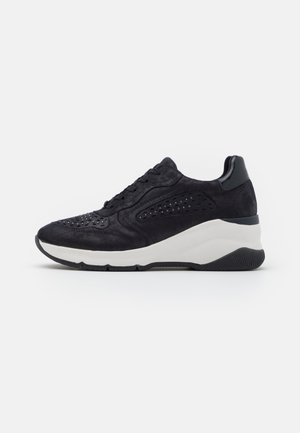 LACE UP - Sneakers basse - navy