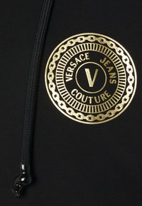 Versace Jeans Couture - FULL ZIP HOODIE WITH LOGO - veste en sweat zippée - nero