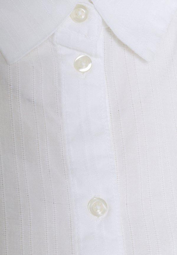 Pieces PCPARLEE SHIRT - Koszula - bright white/biały MOGJ