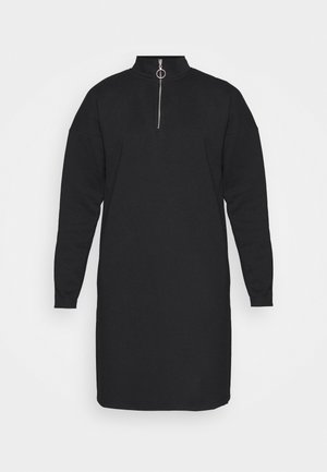 NMPERI ASYA HIGHNECK DRESS - Hverdagskjoler - black