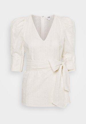 NOVA BLOUSE - T-shirt print - whispy white