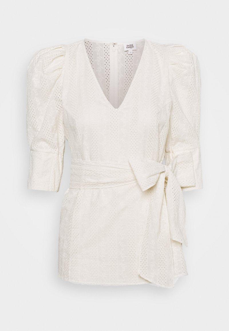 Twist & Tango - NOVA BLOUSE - Print T-shirt - whispy white