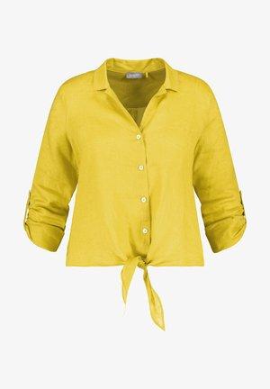 Button-down blouse - citronella