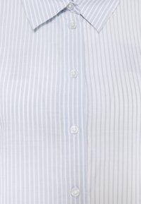 Weekday - GWEN  - Button-down blouse - blue/white - 6