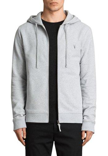 RAVEN - Zip-up sweatshirt - grey marl