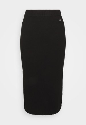 SKIRT - Gonna a tubino - black