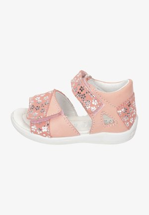 Baby shoes - peach