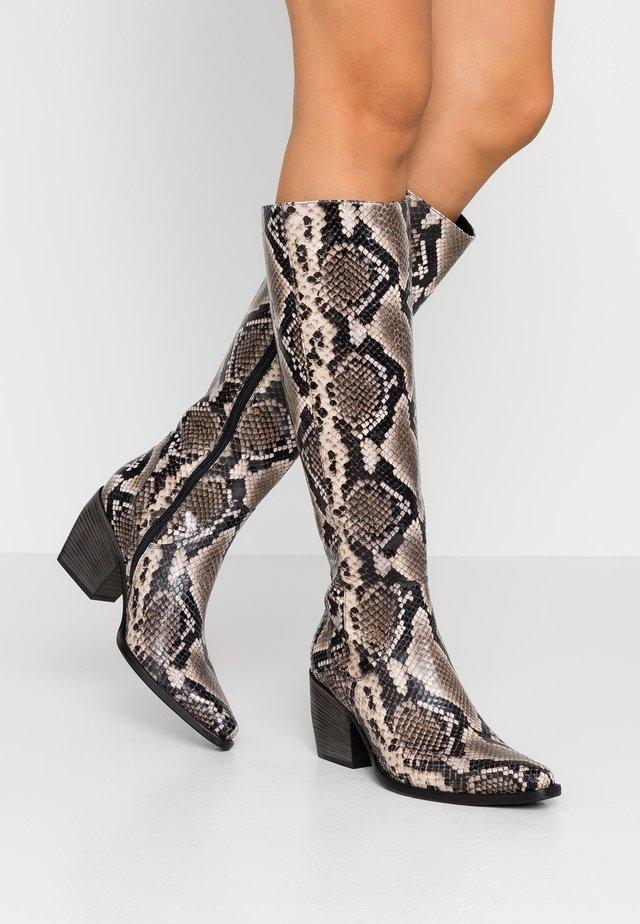 LUNA - Cowboy/Biker boots - roccia