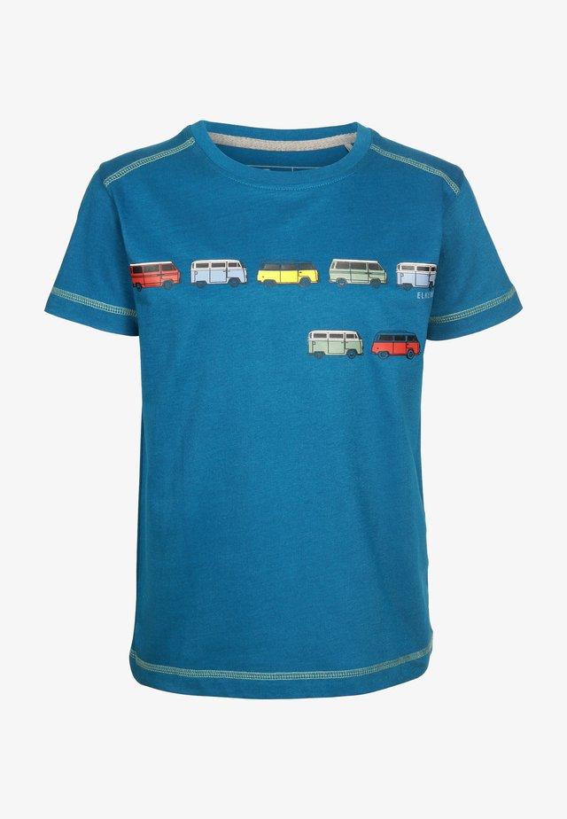 Print T-shirt - inkblue
