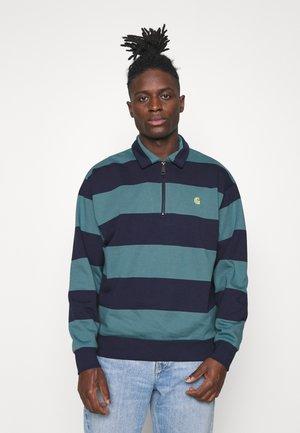 HALF ZIP ALVIN - Zip-up hoodie - alvin stripe space