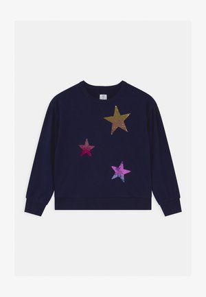 GIRLS FLIPPY BOXY - Sweatshirts - navy uniform