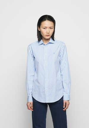 STRIPE - Button-down blouse - blue/white