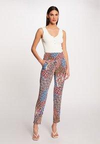 Morgan - Trousers - multi coloured - 1