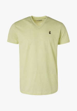 V-NECK - Basic T-shirt - green